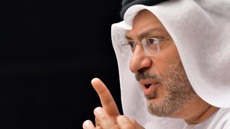 وزير الدولة للشؤون الخارجية في الإمارات العربية المتحدة أنور قرقاش