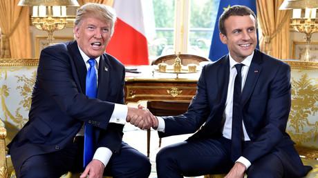 دونالد ترامب في فرنسا