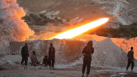 """صورة أرشيفية لعناصر من """"الجيش السوري الحر"""""""