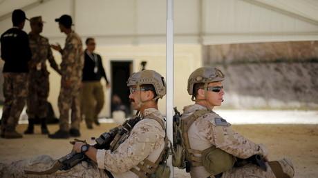 جنود أمريكيون في الأردن