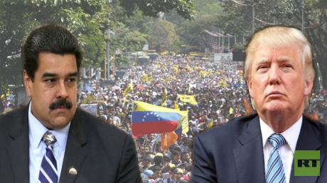 ترامب يتوعد مادورو!