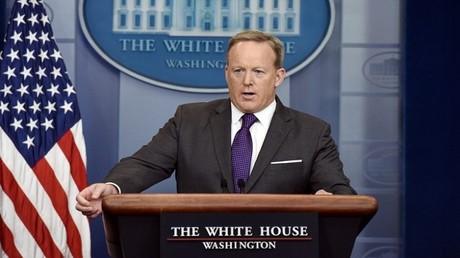 المتحدث باسم البيت الأبيض شون سبايسر