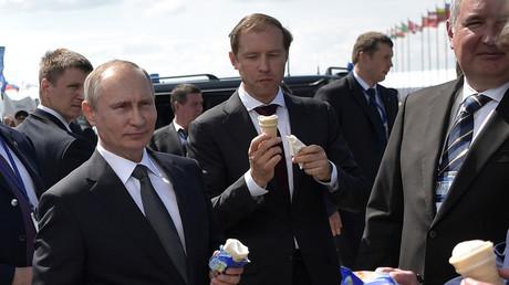 الرئيس الروسي فلاديميربوتين
