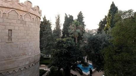 قصر القديس سيرغي الذي أعيد افتتاحه في القدس