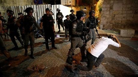 عناصر من القوات الإسرائيلية بالقدس