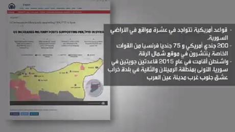 واشنطن: نحذر من كشف مواقع قواتنا بسوريا