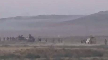 الجيش السوري يتقدم في عمق البادية