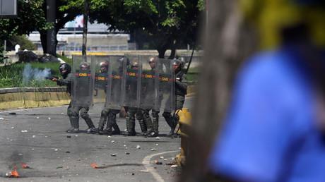 شرطة مكافحة الشغب في فنزويلا