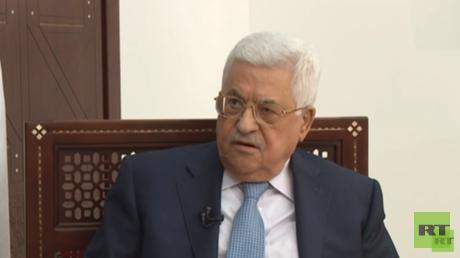 الرئيس الفلسطيني، محمود عباس