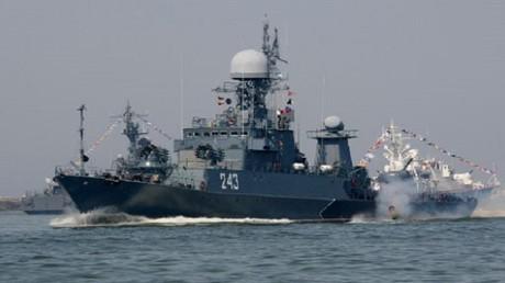 سفن الأسطول البحري الروسي في البلطيق - أرشيف