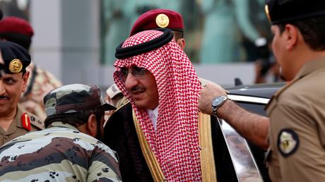 ولي عهد السعودية السابق محمد بن نايف