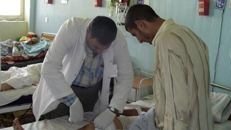 أحد مستشفيات بغداد