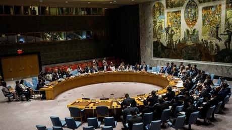 جلسة مجلس الأمن الطارئة حول الوضع في شبه الجزيرة الكورية في 5/7/2017