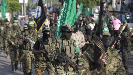 مقاتلون من كتائب القسام