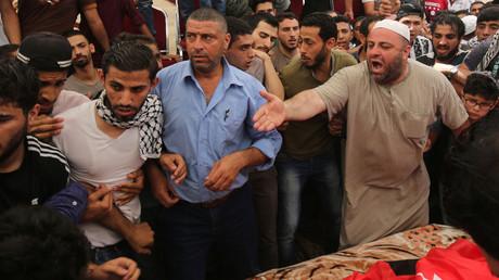 زكريا الجواودة، والد الصبي محمد الجواودة، أحد ضحيتي عملية القتل في مسكن الدبلوماسيين الإسرائيليين بعمان