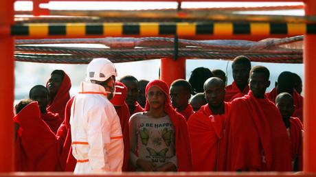 مهاجرون أفارقة يصلون الأراضي الأوروبية