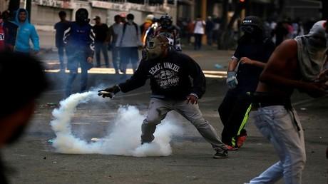 احتجاجات مناهضة للحكومة الفنزويلية في كاراكاس، 26 يوليو 2017