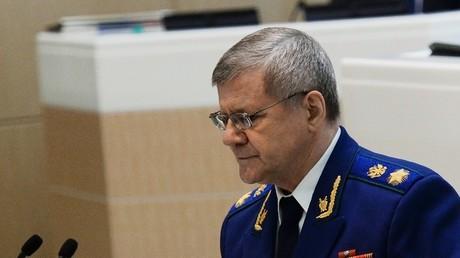 يوري تشايكا المدعي العام في روسيا