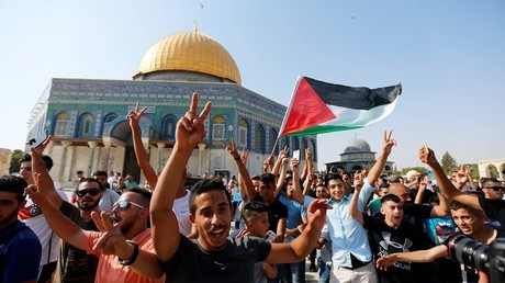 """توتر يسود في القدس وسط دعوات فلسطينية لـ""""شد الرحال"""" إلى الأقصى عشية """"جمعة الانتصار"""""""