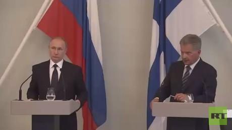 بوتين يتوعد بالرد على عقوبات أمريكا
