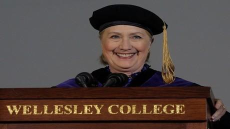 المرشحة الرئاسية السابقة هيلاري كلينتون - 26 مايو 2017