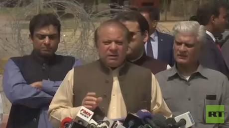 نواز شريف يستقيل من رئاسة حكومة باكستان