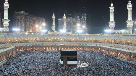 المسجد الحرام في مكة المكرمة خلال الحج