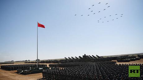 احتفالات جيش التحرير الشعبي الصيني بالذكرى 90 لإنشائه