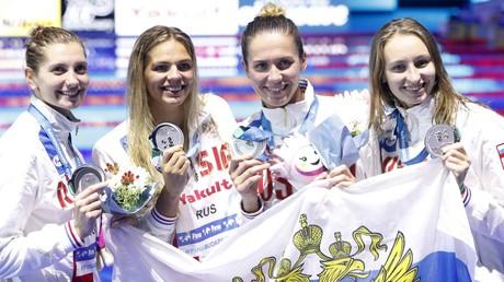 روسيا ثالثة في بطولة العالم للألعاب المائية 2017