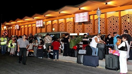 الحركة مستمرة في مطار دمشق الدولي
