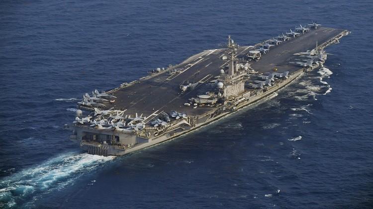 واشنطن.. إرسال حاملة طائرات نووية إلى شبه الجزيرة الكورية
