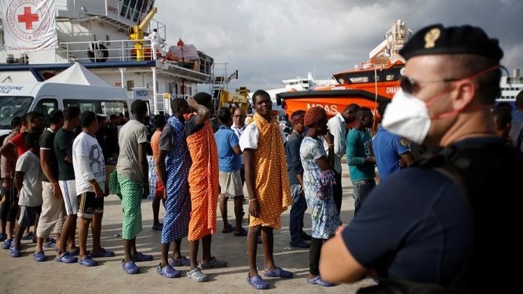 منظمة إغاثة ألمانية تنفي اعتراض السلطات الإيطالية إحدى سفنها في المتوسط