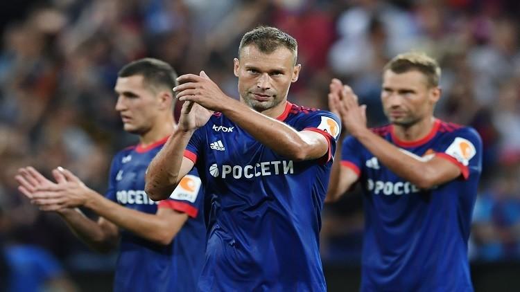 تسيسكا موسكو يؤكد تفوقه على آيك أثينا اليوناني ويقترب من دوري الأبطال