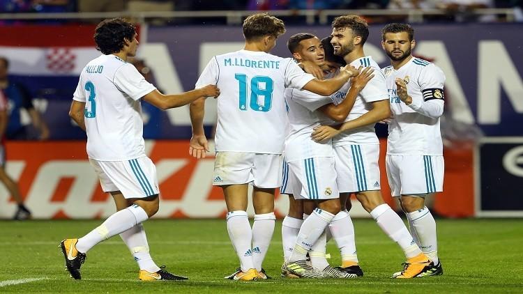 ريال مدريد يتغلب على نجوم الدوري الأمريكي