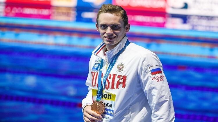 الروسي بريغودا يحرز ذهبية سباق 200 م