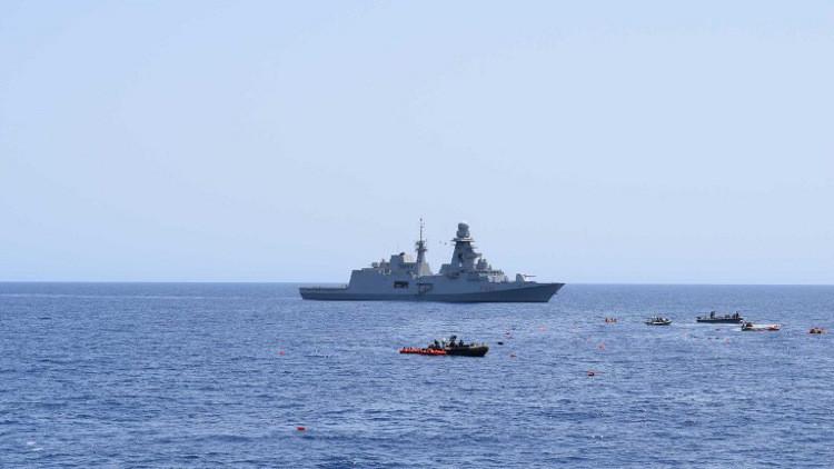 روما تعتبر تهديدات حفتر بقصف سفن إيطالية