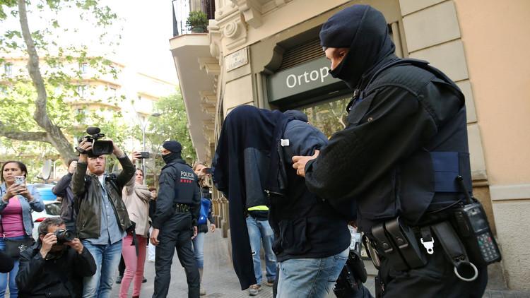 الشرطة الإسبانية تلقي القبض على أعضاء شبكة التهريب