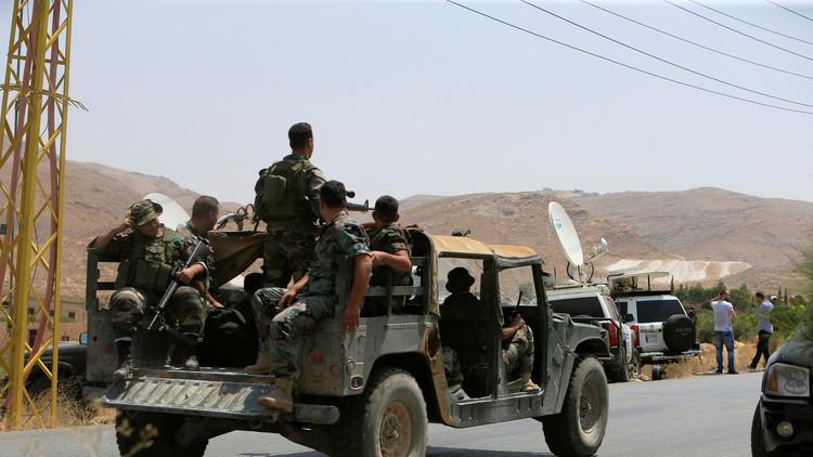 الجيش اللبناني يستهدف