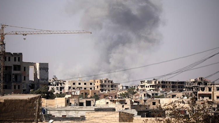الهلال الأحمر السوري: الرقة تتعرض للتدمير لا للتحرير من قبل التحالف الدولي وقوات سوريا الديمقراطية