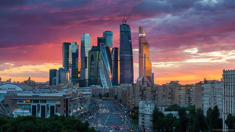 أعلى ناطحة سحاب سكنية في أوروبا ستنجز بموسكو