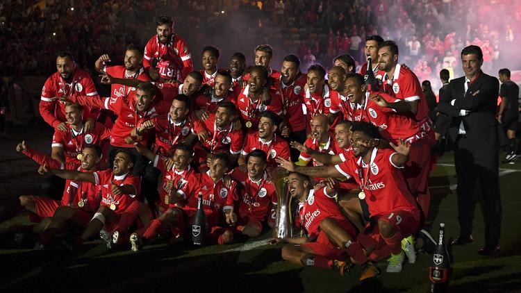 بنفيكا يعانق كأس السوبر البرتغالي