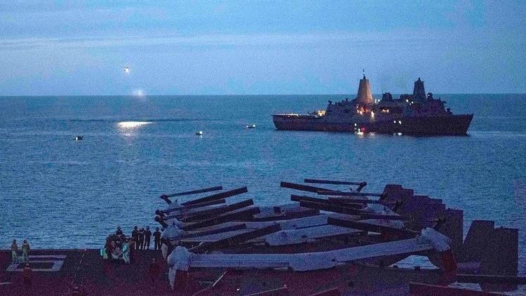 وقف البحث عن  جنود البحرية الأمريكية قبالة سواحل أستراليا