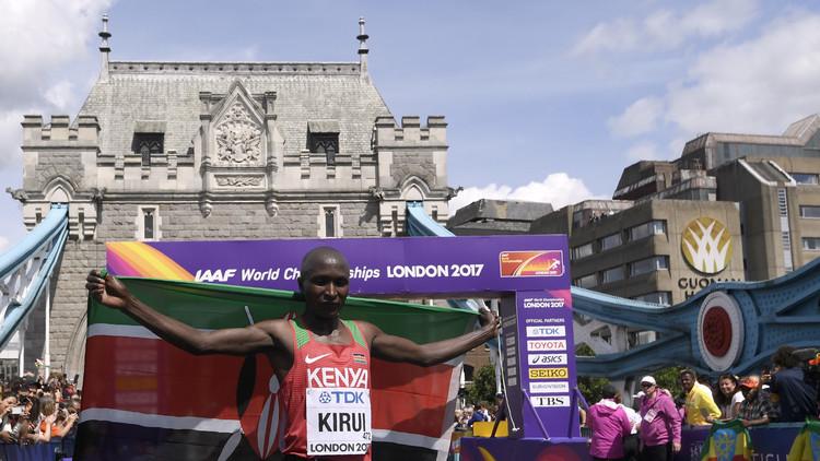 مونديال القوى.. الكيني كيروي يحرز ذهبية الماراتون