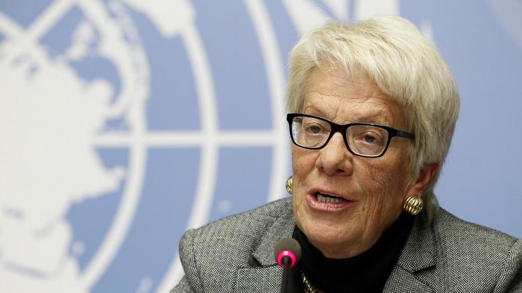 ديل بونتي تستقيل من لجنة التحقيق في سوريا وتبرر الأسباب