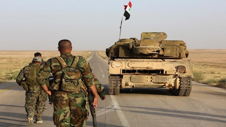 الجيش السوري يواصل تقدمه في بادية السخنة