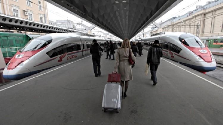 خططوا لقتل المئات بحرف قطار سريع عن مساره بين موسكو وبطرسبورغ