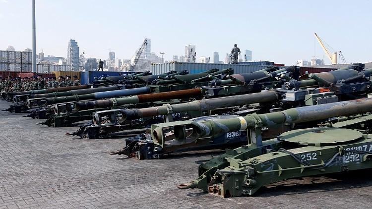 ذخيرة أمريكية غير مسبوقة للجيش اللبناني