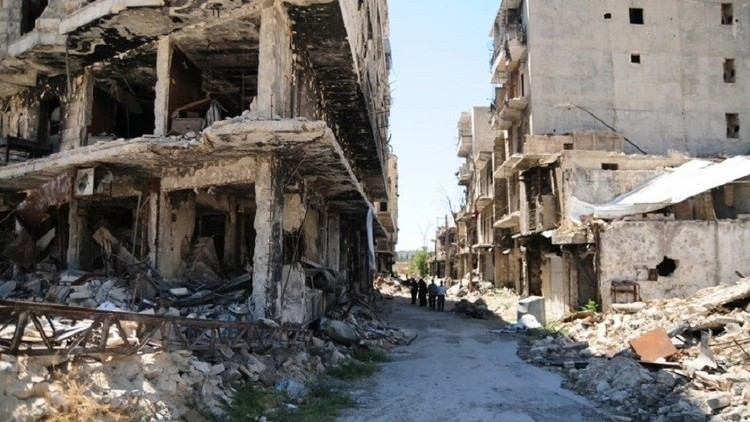 انفجار داخل ثكنة للجيش السوري في حلب