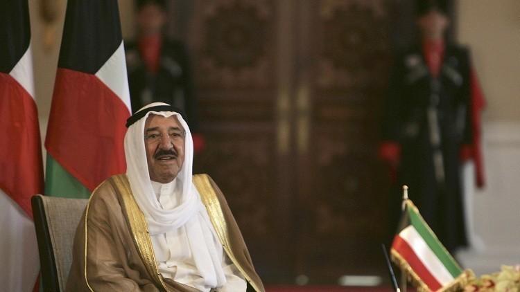 أمير الكويت يبعث برسالتين إلى العاهل السعودي والرئيس المصري