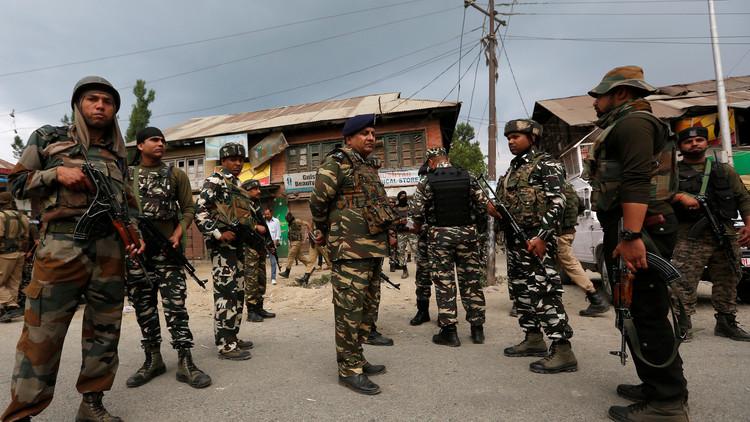 الجيش الهندي يقتل 5 مسلحين في كشمير